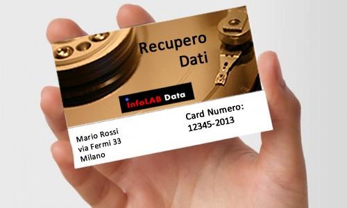 Carta fedeltà Infolab Data